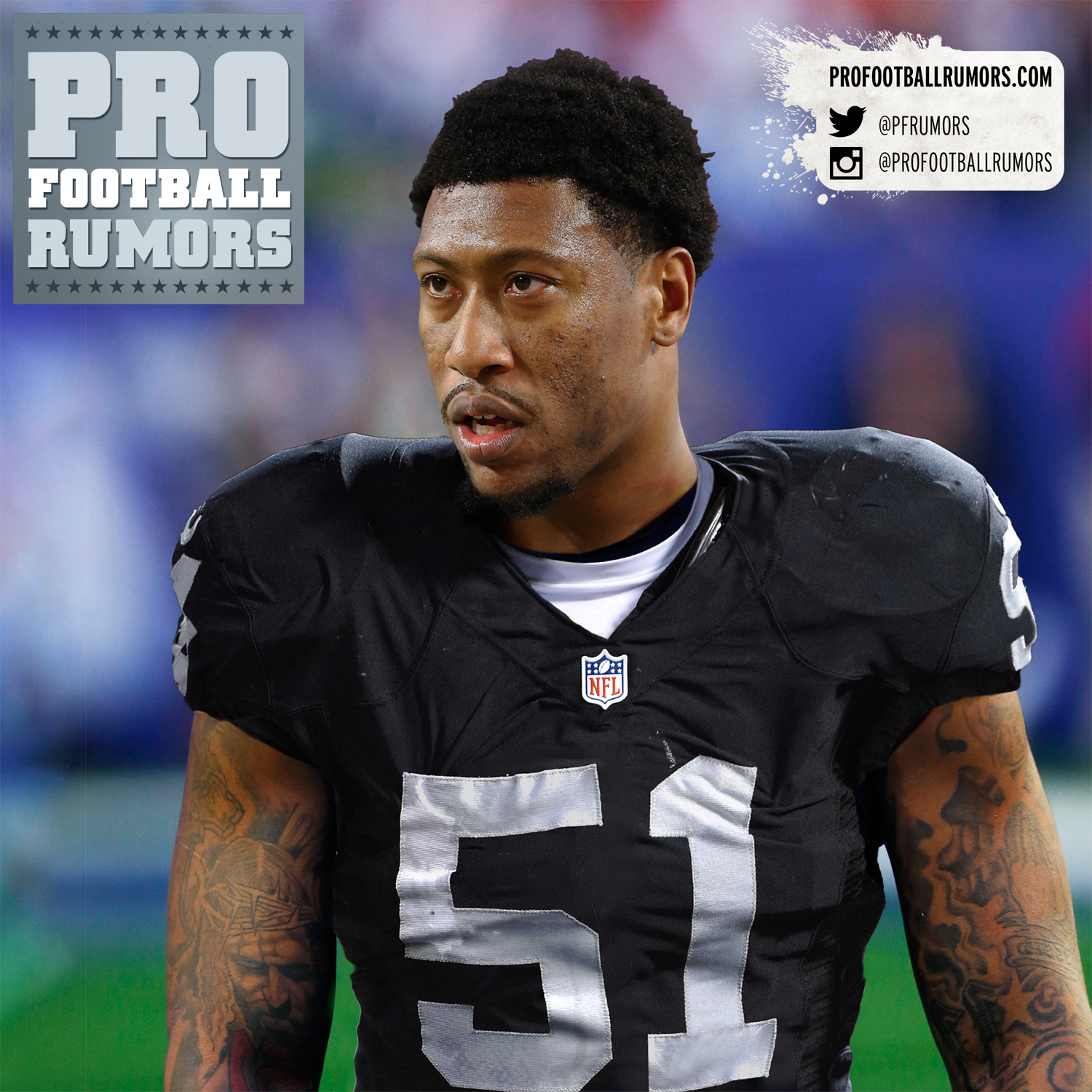 Raiders Sign Bruce Irvin To Four-Year Deal Bruce Irvin