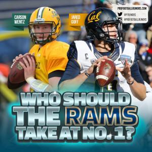 Rams Draft No. 1 Pick (Square)